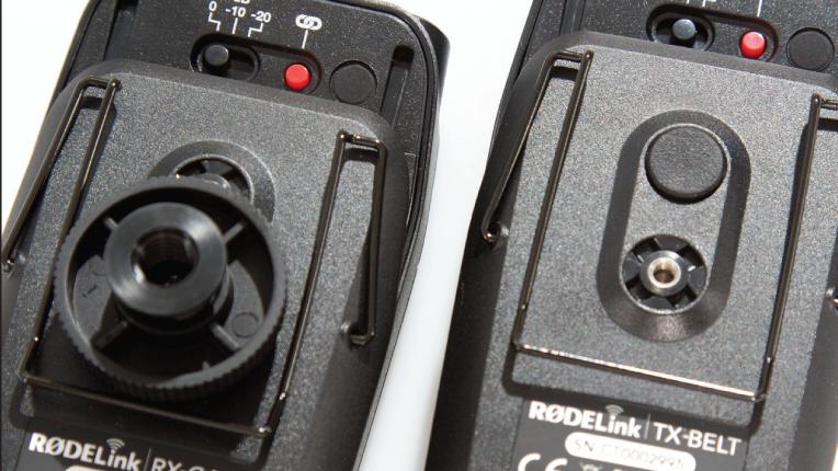 Rødelink Filmmaker clip or camer-top mounting