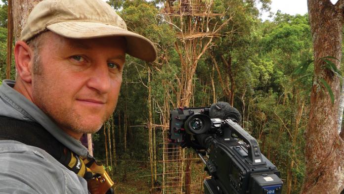 Veteran outdoor cinematographer, Gavin Thurston.