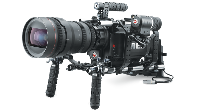 RED ONE camera with accessories