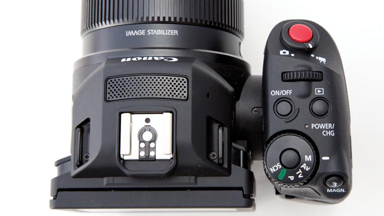 Canon XC10 Ultra HD Camcorder Rear