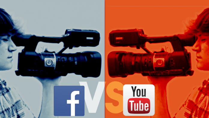 Facebook vs YouTube camera face off.