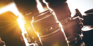 Collection of Lenses with backlighting
