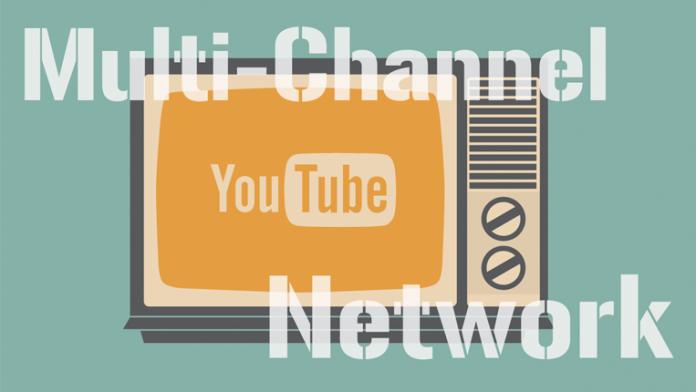 Retro tv with YouTube logo