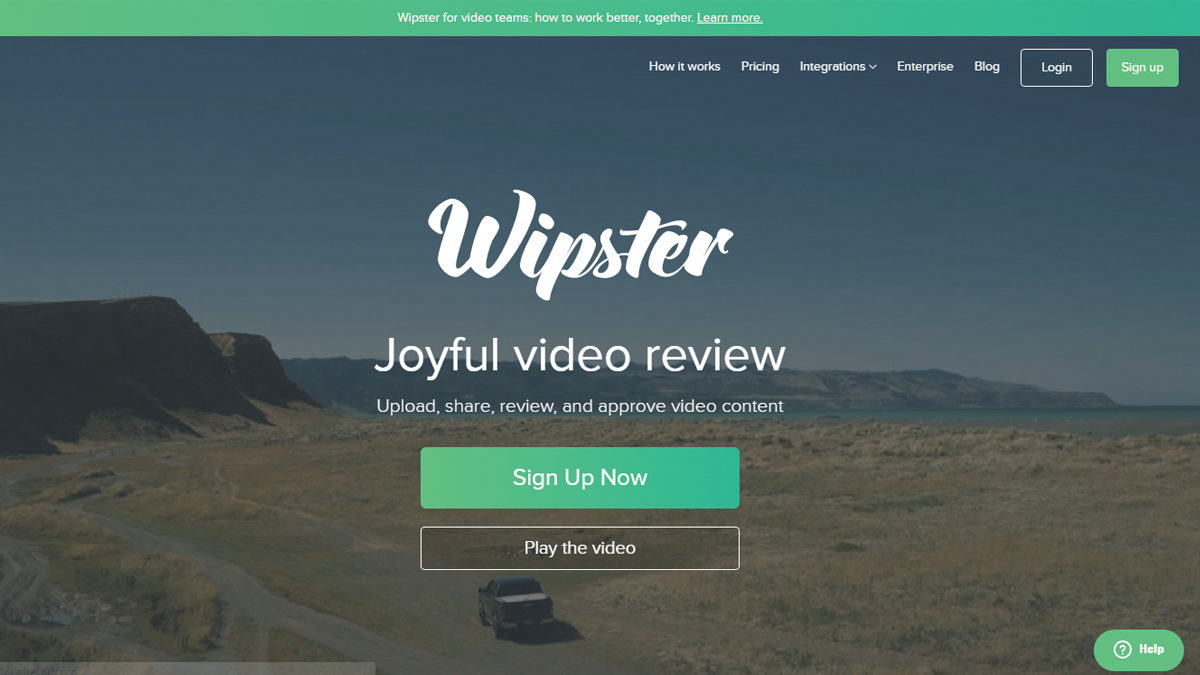 Wipster offers robust, easy to use video review tools along with integration with Premiere Pro CC and Vimeo.