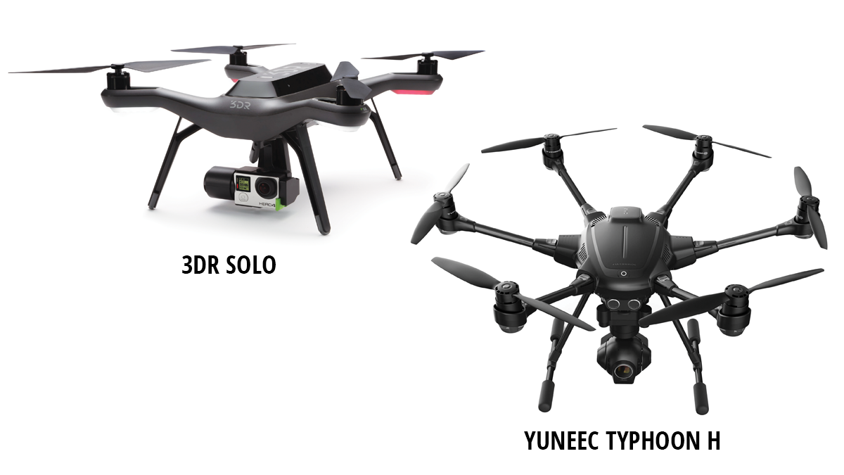 3DR Solo - Yuneec Typhoon H