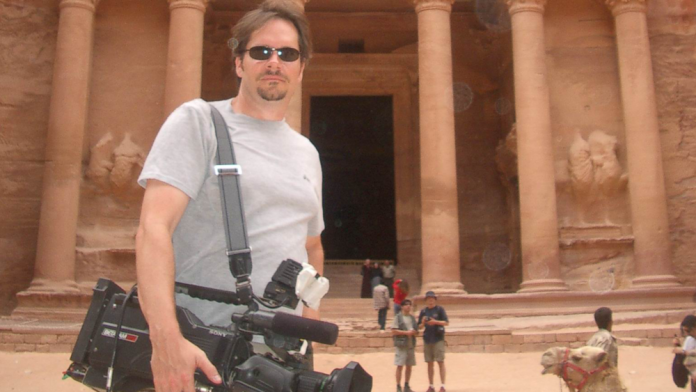 Advice on Big Interviews - Dave Roberson on a shoot in Petra Jordan