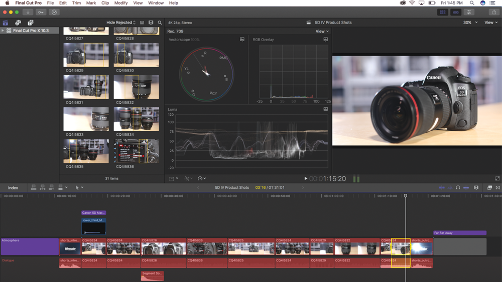 Apple Final Cut Pro X 10 3 Review - Videomaker