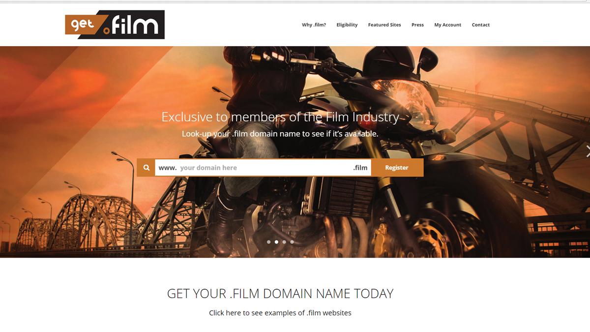 Get.film website