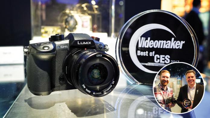 Best Camera: Panasonic GH5