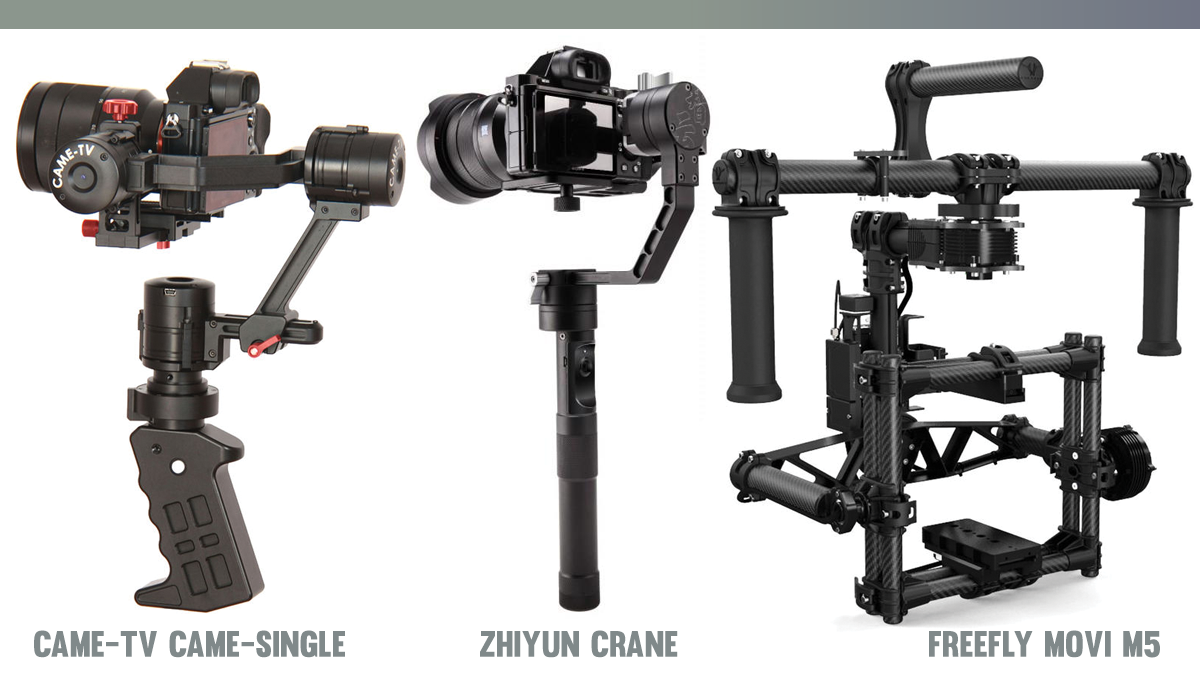 CAME-TV Came-single, Zhiyun Crane and Freefly Movi M5 - MōVI M5 from Freefly Systems