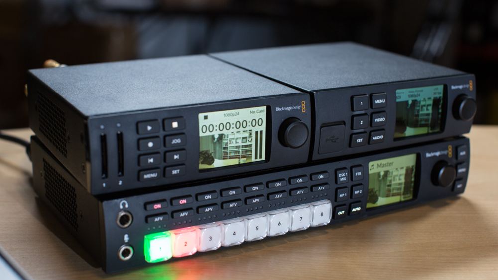 Review: We Try Out the Blackmagic Web Presenter with the ATEM