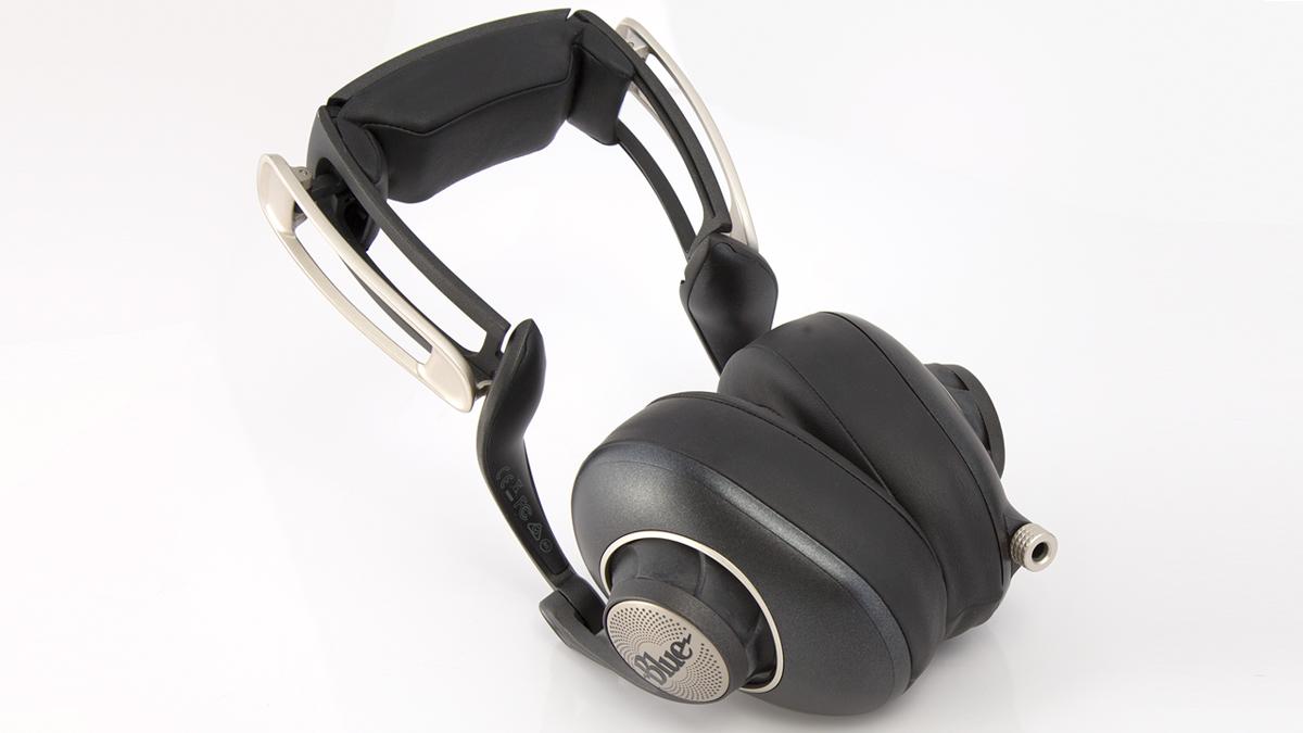 Blue Sadie headphones