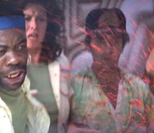 """The famous """"chest bursting"""" scene in """"Alien"""" - reaction shot"""