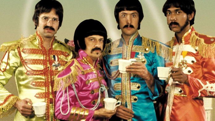 """How Mockumentary Highlights Documentary Tropes - 1978 Beatles parody, """"The Rutles - All You Need Is Cash."""""""