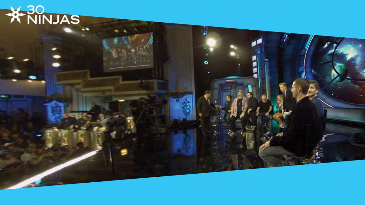 30 Ninjas Productions - Conan Live in 360 at Comic Con