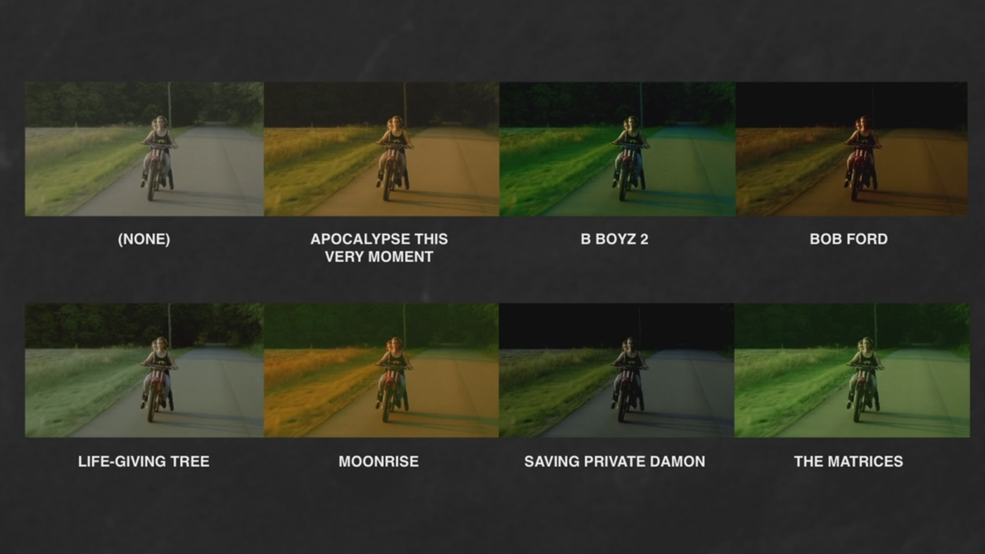 Use LUT's other people have already made- Examples of some SmallHd free LUTs