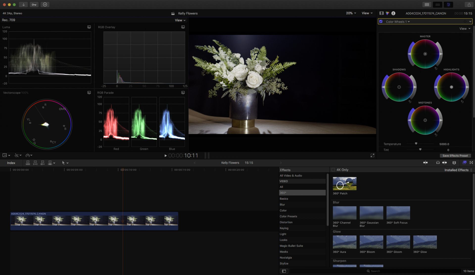 Review: Final Cut Pro X 10 4 Brings 360 Support, Better