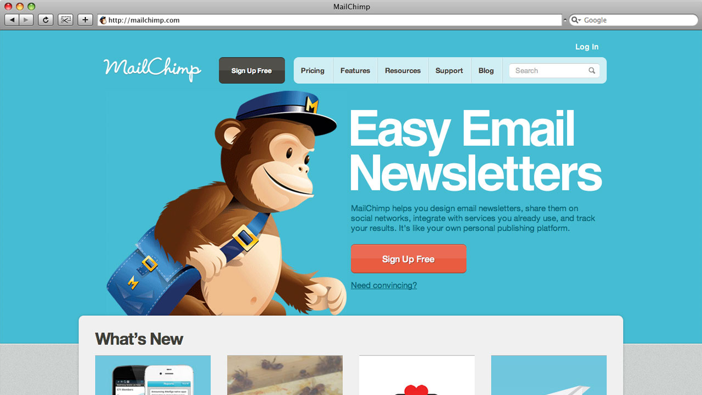 If your email list is extensive, you may want to consider an email marketing service like MailChimp.