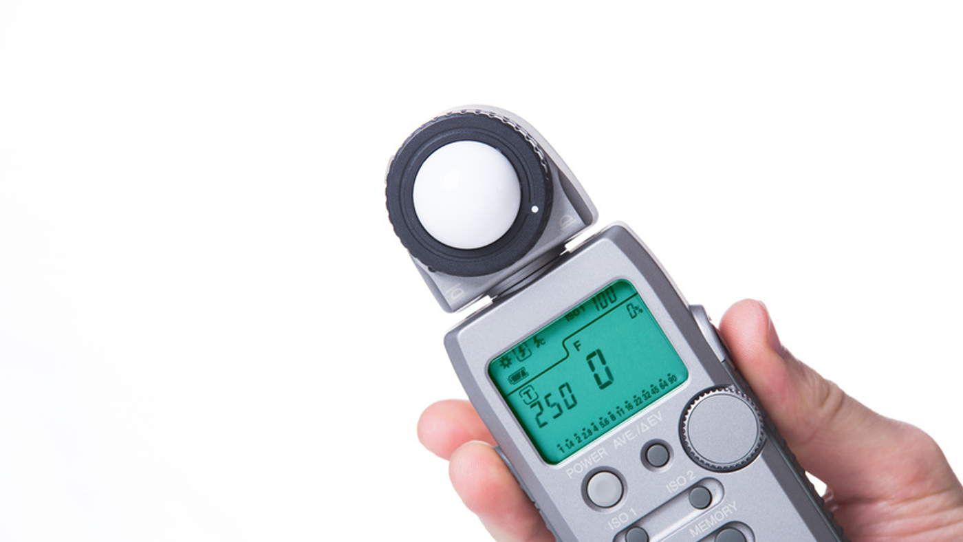 A light meter is still an essential tool for quality lighting