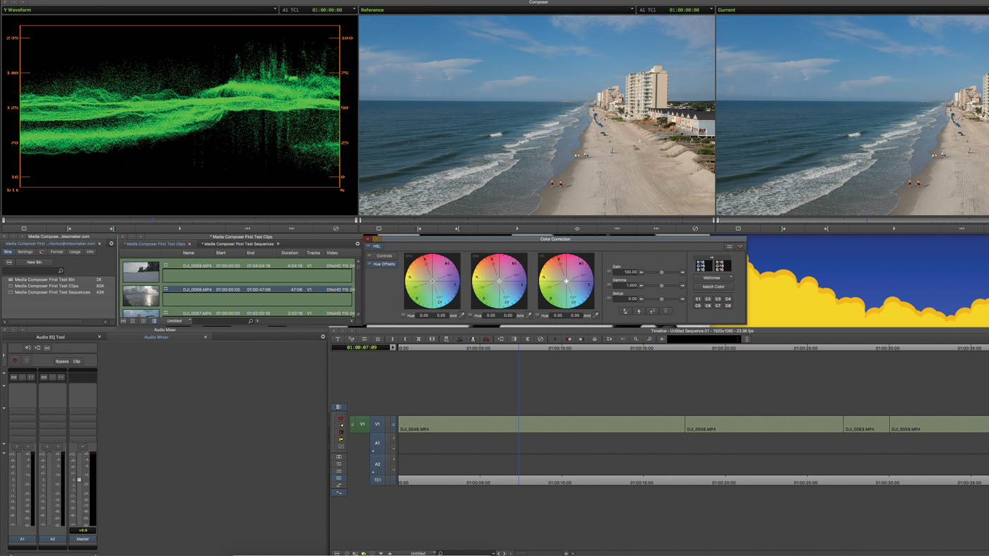 Review: Avid Media Composer First Gives You Pro Editing