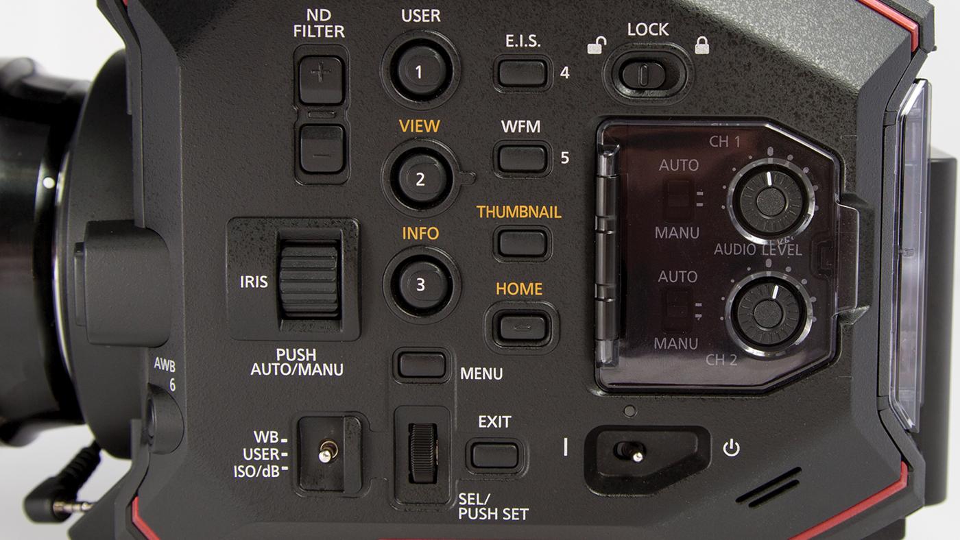Dual XLR inputs