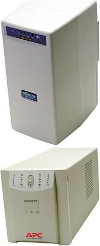 Uninterruptible Power Source Comparison:Tripp Lite SmartPro 700 USB UPS vs. American Power Conversion Smart-UPS 700 Net UPS
