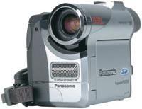 Mini DV Camcorder Review: Panasonic PV-DC252  Palmcorder