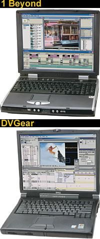 Laptop Comparison : 1 Beyond DV Pro 2600 Laptop vs. DVGear DVMobile Pro Dell Latitude C840