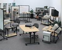 Desktop Video: Furniture for Editing Computers