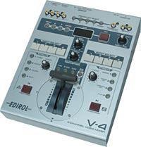 Video Mixer Review:  Edirol V-4
