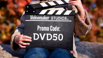 videomaker's 50% off black friday DVD sale