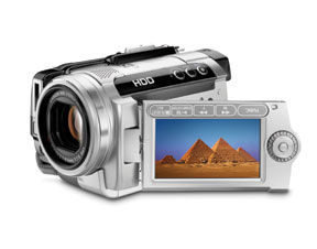 Canon's New HG10 AVCHD Hard Disk Drive Camcorder
