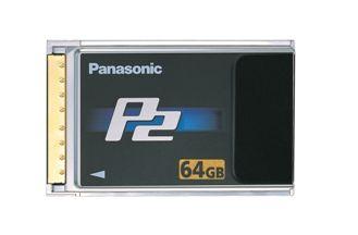 Panasonic Announces 64GB P2 Card