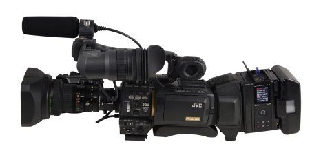 JVC MR-HD200U adds solid state recording to the HD200 series camcorders