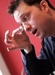 The Eyeborg: Filmmaker soon to receive the Eyeball Cam