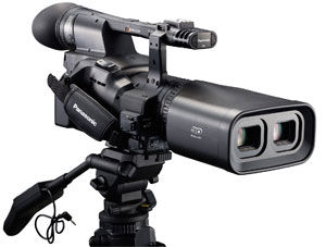 Panasonic Unveils World's First Integrated Full HD 3D Camcorder At CES