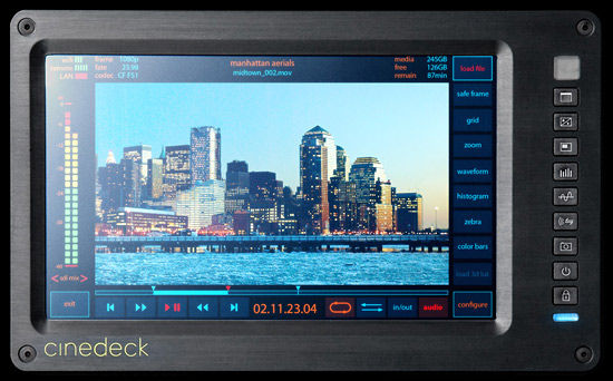Cinedeck Unveils Sleek New Direct to Edit Device That You Can...(gasp)...Edit On