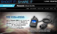 Panasonic Announces Video Contest For The AG-HMR10 AVCCAM Handheld Recorder