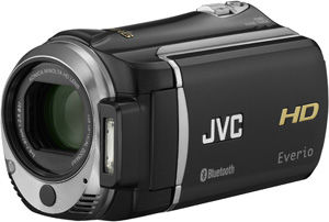 Bluetooth-enabled JVC HD Everio Camera Now Available
