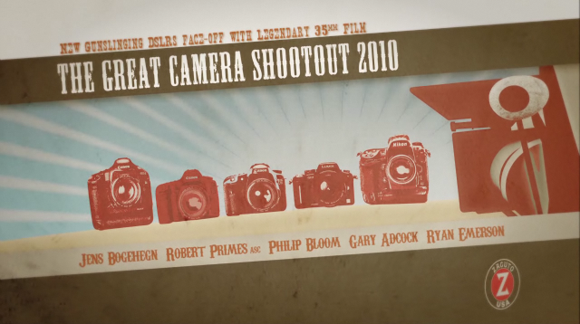 The Great Camera Shootout 2010 - Zacuto Films