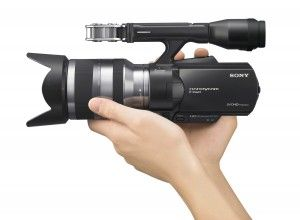 Sony Releases Updated NEX-VG20 Camcorder