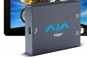 NAB 2012 Spotlight: AJA's T-TAP