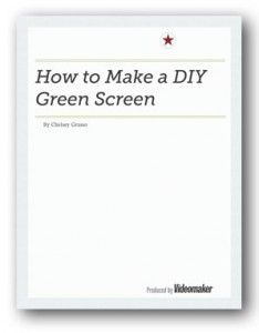 Learn How to Make a DIY Green Screen with a New Free Report