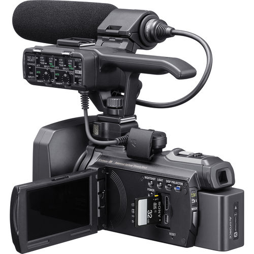 The HXR-NX30U - a Handheld Professional Camcorder
