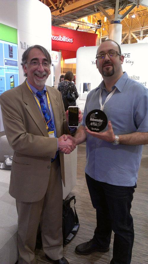 CTIA 2012 Spotlight Award Winner: HTC One X