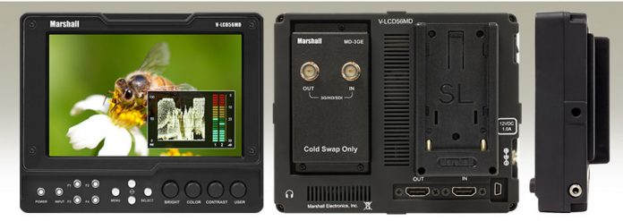 "Marshall Releases 5.6"" Modular Field Monitor"