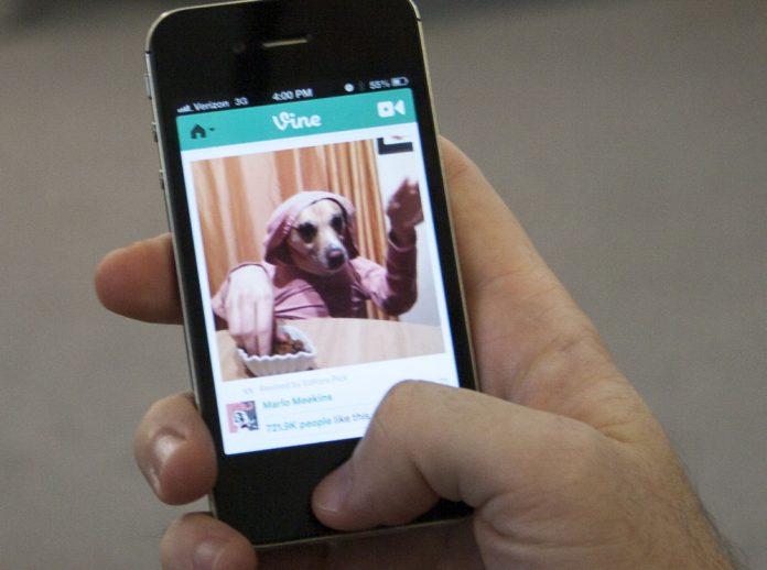 Vine on iPhone 4S