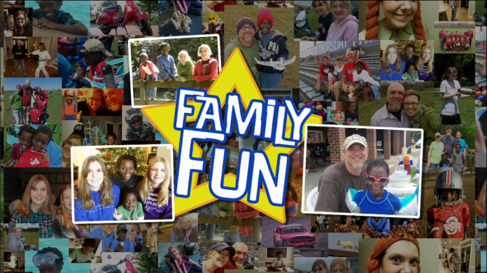 """Collage of photos for """"Family Fun"""""""