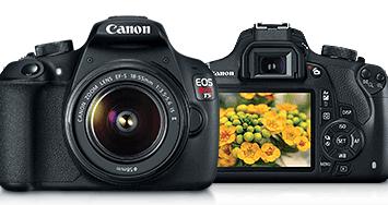A new Canon DSLR