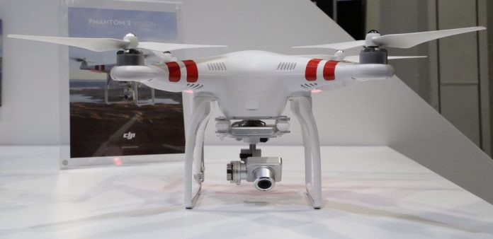 Quadcopter with gimbal and camera